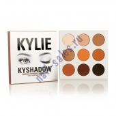 Профессиональная палетка теней  Kylie Kyshadow The bronze Palette 9 цветов