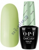 OPI GelColor цвет GARGANTUAN GREEN GRAPE 103