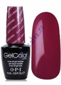 OPI GelColor цвет  GOT THE BLUES FOR RED W52